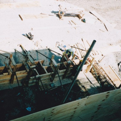 Footings and Oversite